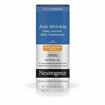 Neutrogena Ageless Intensives Anti Wrinkle Cream - Facial Moisturizer SP... - $22.69