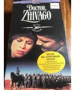 Doctor Zhivago 1965 (VHS, 1995, 2-Tape Set, 30th Anniversary Edition) BR... - $5.89