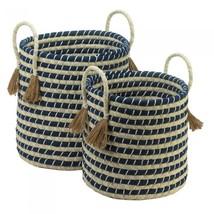 Braided Baskets With Tassels - $108.36