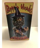 2001 Adams BOPP'N HEADS Conjur WIZARD Original Box MAGICIAN BOBBLE Head - $27.50