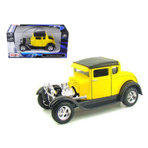 1929 Ford Model A Yellow 1/24 Diecast Model Car by Maisto 31201y - $28.93