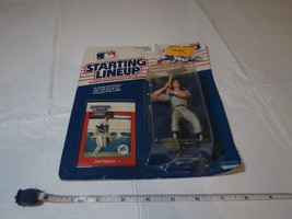 1988 JIM PRESLEY #17 Seattle Mariners Rookie Starting Lineup MLB NOS fig... - $13.65