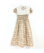 Ladybug Kidswear Dress Floral Girl Size Small  - $20.64