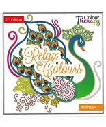 Colour Therapy Anti-Stress Adult Colouring Book /30 Pages/ Animals Edition - $6.45
