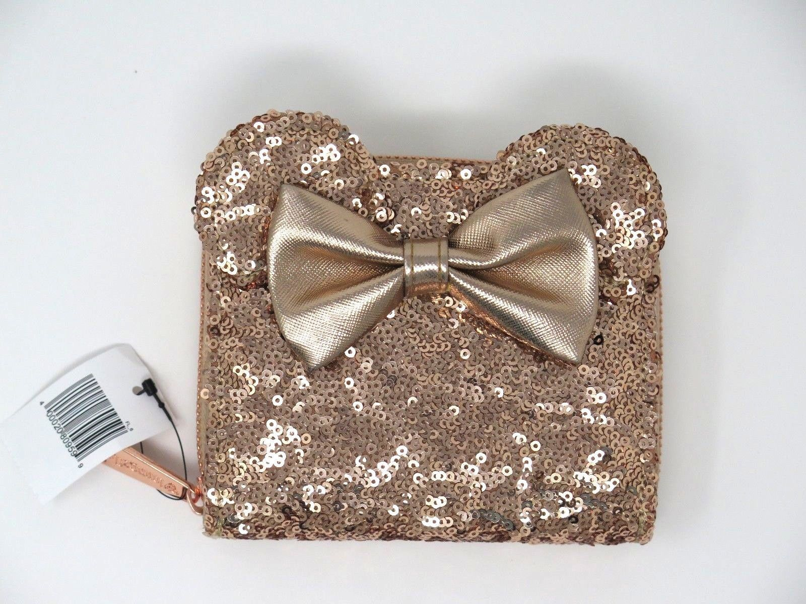 3e9910af2f4 Disney Parks Loungefly Rose Gold Sequined and similar items. 57