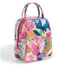 Vera Bradley Quilted Signature Cotton Iconic Lunch Bunch Bag, Superbloom