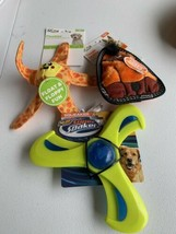 Lot Of 3 Dog Toys Super Soaker Floatiez Toigh Seamz - $24.74