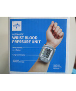 Medline LCD Digital BLOOD PRESSURE MONITOR Wrist Cuff Memory Reading Dat... - $18.95