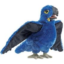 Folkmanis Blue Macaw Hand Puppet Plush - $30.53