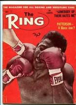 RING MAGAZINE-5/1962-BOXING-PATTERSON-MOORE-LOGAN VG - $37.25