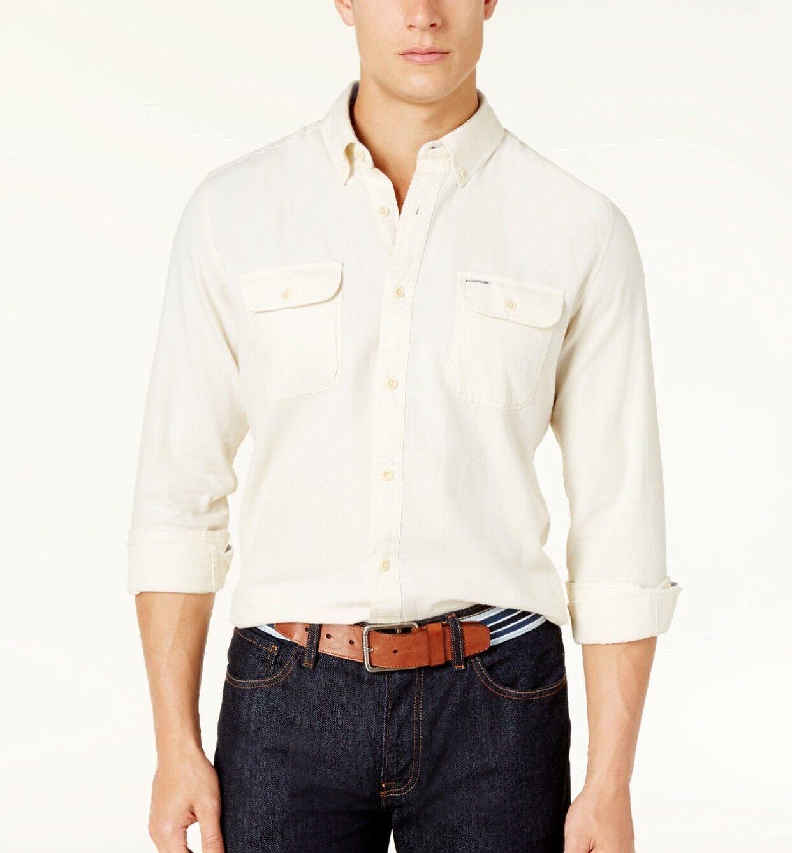 Tommy Hilfiger Men's Custom Fit  Button Down Shirt Size XL - $27.77