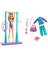 Barbie Team Stacie Gymnastics Class Exclusive Playset MATTEL Licensed NI... - $21.99