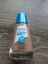 Covergirl Clean Matte Liquid Foundation 30mL 565 Tawny. New  - $8.86