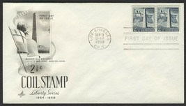 #1056 2 1/2c Bunker Hill, Art Craft-Addressed FDC **ANY 4=FREE SHIPPING** - $1.25