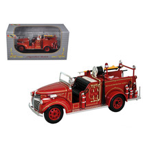 1941 GMC Fire Engine Truck Red 1/32 Diecast Model Car by Signature Model... - $33.34