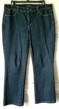 Talbots Flawless 5-Pocket Sz 10 Womens Bootcut Blue Denim Jeans - $15.83