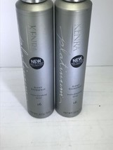 2x Kenra Professional Platinum HiDef Hairspray # 16 NEW  8 oz  - $30.68