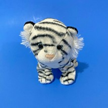 "Ty Teegra Plush Tiger 5"" Black and White - $7.70"
