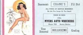 THOMPSON-1940s-BIG COCONUTS-INK BLOTTER - $18.62