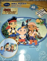 Jake and the Pirates Wall Puzzle 46 Pieces Izzy - $12.00