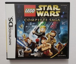 Lego Star Wars The Complete Saga 2006 Nintendo DS Video Game CIB Complete - $18.76