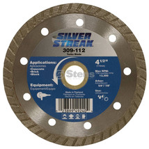 Stens 309-112 Silver Streak Turbo Blade Cut-Off Saw For angle grinders image 2