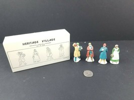 Dept 56 Heritage Village City People 5967-6 Set of 4 Nurse Policeman Cop... - $15.72