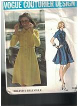 2820 Vintage Vogue Couture Motif Femmes Robe Belinda Bellville Broche Tu... - $29.99