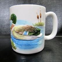 Vintage Otagiri Duck 3D Embossed Coffee Mug Cup Japan Hand Crafted - $19.99