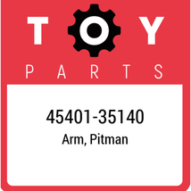 45401-35140 Toyota Pitman Arm, New Genuine OEM Part - $74.63