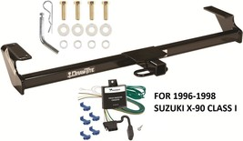 TRAILER HITCH W/ WIRING KIT FOR 1996-1998 SUZUKI X-90 CLASS I DRAWTITE B... - $179.29
