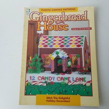Plastic Canvas Patterns Gingerbread House #181012 Designed by Celia Lange - $6.71