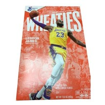 Lebron James Wheaties Cereal Sealed Los Angeles Lakers New - $21.20