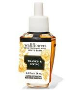 Bath & Body Works Thanks & Giving Wallflowers Fragrance Refill Bulb NWT - $9.05