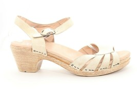 VINTAGE Dansko Marlow  wedges  Sandals Stone Women's Size  41 () - $93.15