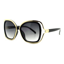 Designer Womens Fashion Sunglasses Classy Oversized Square Frame UV 400 - $10.95