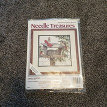 Counted Cross Stitch Needle Treasures Caught Napping 14 X 14 Frame Size ... - $21.99