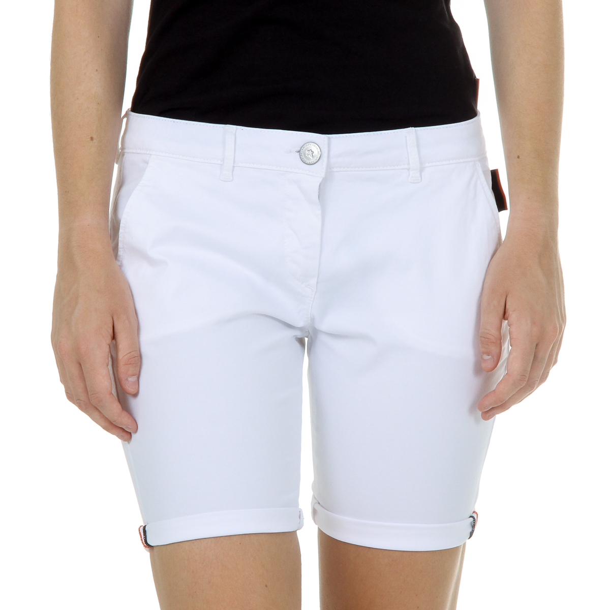 Primary image for Andrew Charles Womens Shorts White SAFIA