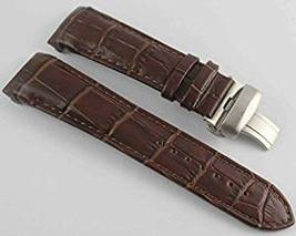 23mm Brown Tissot T035439 T035617 Leather Watch Strap Band with Clasp Buckle  - $35.99
