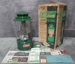 READ! Vintage Dec. 1966 Near Mint in Box Coleman Model 220F 2-Mantle Lan... - $149.99