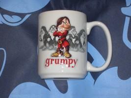DISNEY PARKS GRUMPY 12 ounce COFFEE CUP MUG. SNOW WHITE & 7 DWARFS. NEW. - $16.82