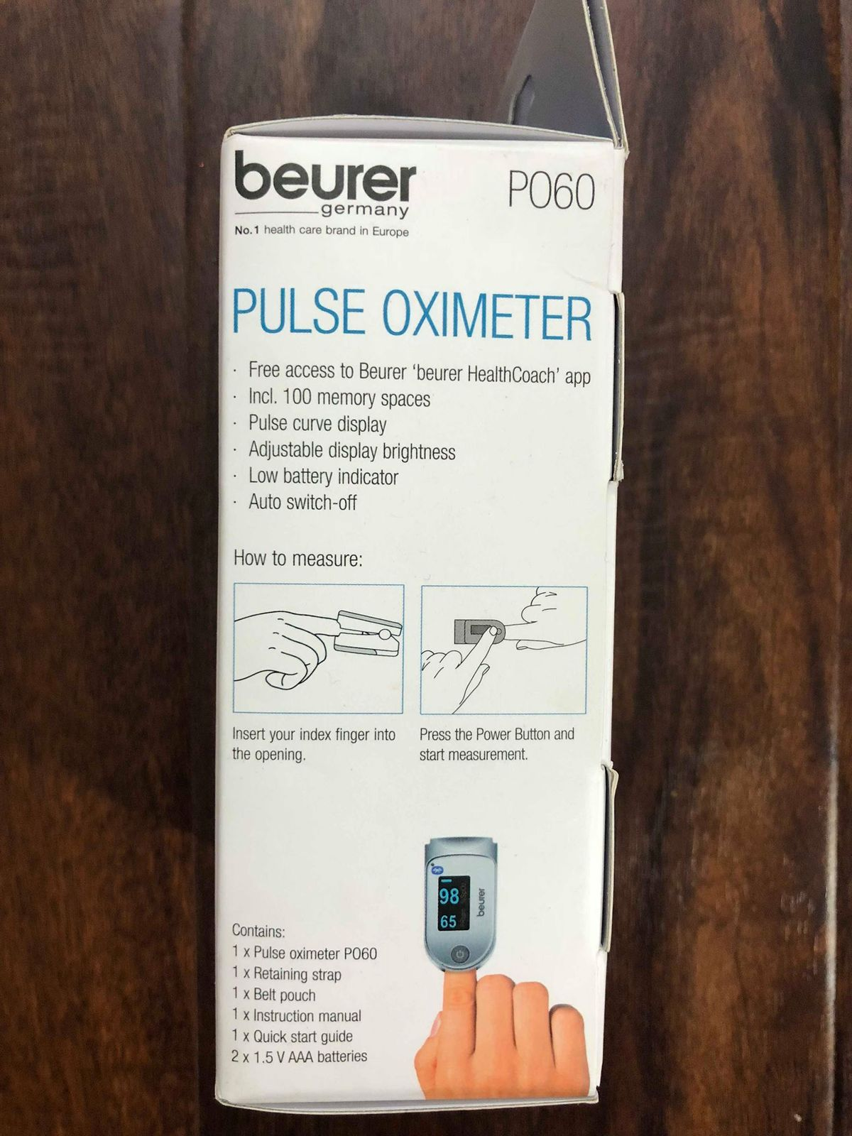 Beurer Pulse Oximeter Smart Health and 50 similar items