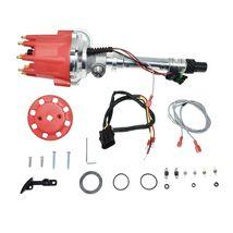 Pro Series R2R Distributor for Chevy Corvette SB/BB, Tach Drive, Red Cap image 9