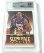 2008-09  HOT PROSPECTS SUPREME COURT # SC10 KOBE BRYANT BGS NEAR MINT 8.... - $199.99