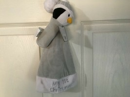 """Koala Baby Neutral """"My First Christmas Hat And Penguin Rattle *New* d1 - $6.99"""