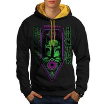 Bounty Hunter Space Sweatshirt Hoody Universe Men Contrast Hoodie - $23.99+