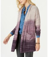 Style & Co. Women's Marled-Knit Hooded Cardigans - $42.86+