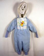 VINTAGE AÑOS 70 80 SEARS Disney Winnie the Pooh infantil Capucha Nieve T... - $8.63