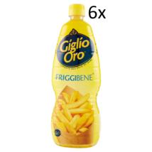 6x carapelli Giglio Oro friggibene Olio di Semi Oil Cooking 1Lt - $33.17