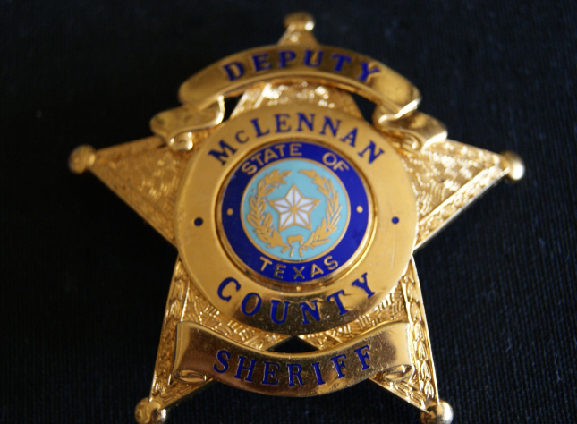Texas Deputy Sheriff Badge McLennan County, and 50 similar items